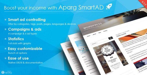 24 лучших плагинов для размещения рекламы на сайте WordPress Клуб WordPress 3919 aparg-smartad-cover-jpg.3996