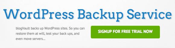 BlogVault - один из лучших плагинов WordPress для резервного копирования
