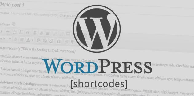 шорткоды wordpress плагин