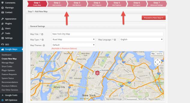 Google Maps для блога WordPress