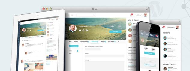 Шаблоны для социальной сети на WordPress