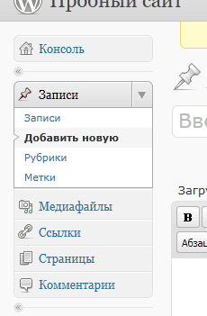 WordPress для клиента1