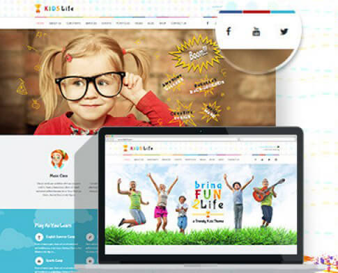 Темы WordPress для малышей и детей постарше