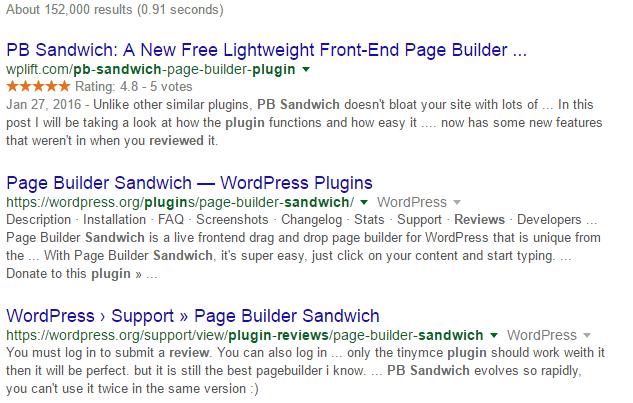 Дополнительная информация в результатах поиска для Rich Snippets