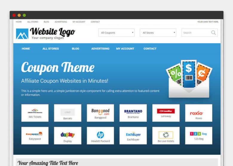 Лучшие темы WordPress для создания купонных сайтов