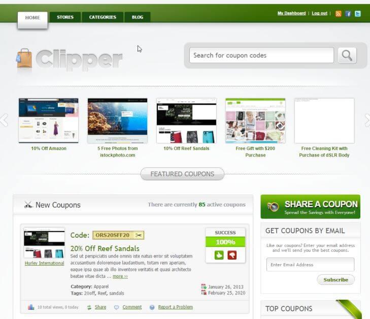 Лучшие шаблоны WordPress для создания купонных сайтов