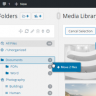 WordPress Real Media Library – Media Categories / Folders