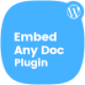 Embed Any Document Plus – WordPress Plugin