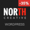 North – One Page Parallax WordPress Theme