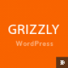Grizzly – Responsive App Showcase / Corporate