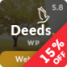 Deeds – Best Nonprofit Church Organization WP Theme