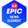 Epic News Elements - Add Ons for Elementor & WPBakery Page Builder