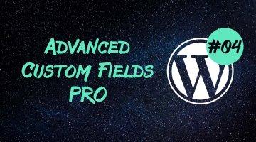 Advanced Custom Fields Pro — get_field_objects() и страницы с настройками